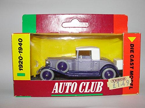 tesco-auto-club-die-cast-model-1920-1940