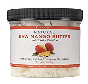 Sunaroma Body Butters for Skin and Hair (Mango Butter)