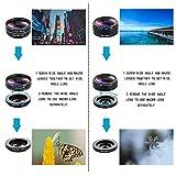 iPhone Lens Kit, Phone Camera Lens 9 in 1 Zoom
