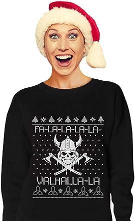 Viking Nordic God Valahalla Mythology Ugly Christmas Sweater