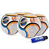 The Mission Ball (Spanish Soccer Ball - Biblical Gospel Sharing Tool Using The World's Most Popular Sport to Explain Christ - Perfect for Mission Trips, Shoeboxes, VBS, and Gifts (5 Pack)