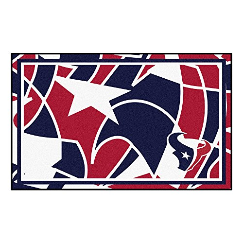 FANMATS NFL Houston Texans NFL - Houston Texans4x6 Rug, Team Color, One Sized