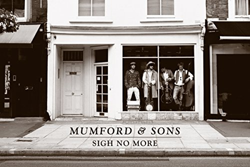 Mumford and Sons Music Poster Sigh No More Store Window