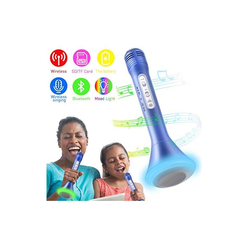 Wireless Karaoke Microphone, Kids Microp