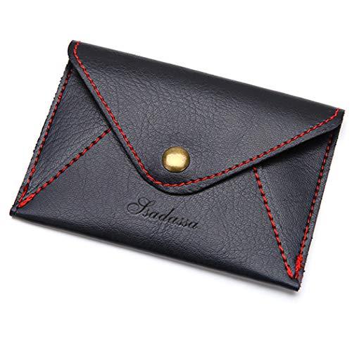 Wallet Matte PU Leather Thin Envelope Mini Card Women Men Business (Ultra Thin Envelope)