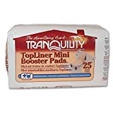 Tranquility TopLiner Mini Booster Pad Diaper Inserts Pk/25