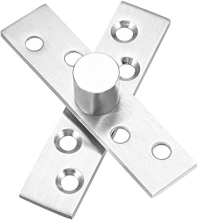 Charni/ère de porte pivotante en acier inoxydable /à 360 degr/és avec pivot
