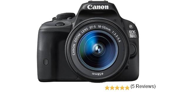 Canon EOS 100D - Cámara réflex Digital de 18 MP (Pantalla 3.0 ...