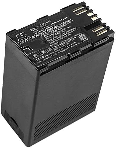 6800mAh Replacement Battery for Canon CA-CP200L Canon EOS C200 Canon EOS C200 PL