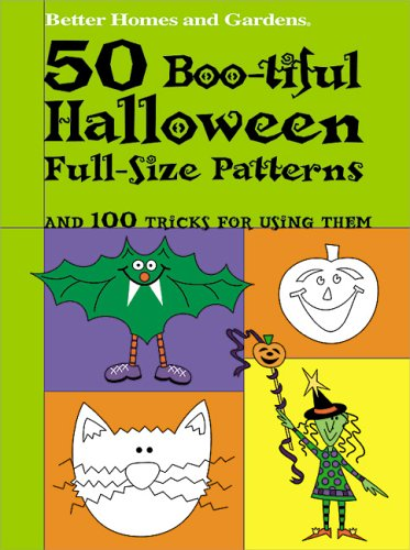 50 Boo-tiful Halloween Full-Size Patterns (Better Homes and Gardens(r))]()