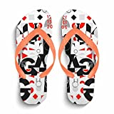 Ron Kite Men's Easy Thong Flip Flop Sandal|Men's Flip Flops Beach Slippers