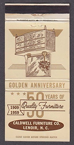 Fine Caldwell Furniture Co Lenoir Nc Golden Anniversary Uwap Interior Chair Design Uwaporg