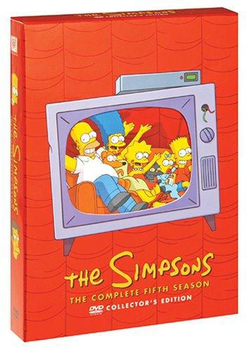 ザ・シンプソンズ シーズン5 DVDコレクターズBOX