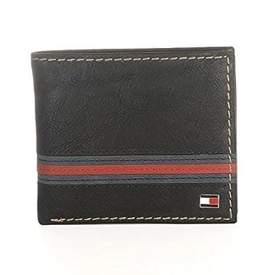 b77c2c1f5d61 [トミーヒルフィガー]TOMMY HILFIGER メンズ YALE 二つ折り財布 サイフ 小銭入れ付き ブラック