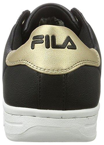 10l Multicolore gold Fila black Baskets Wmn Low Femme Crosscourt 2 xfPB7