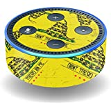 MightySkins Skin For Amazon Echo Dot (2nd Gen) - Tread Lightly | Protective, Durable, and Unique Vinyl Decal wrap cover | Easy To Apply, Remove, and Change Styles | Made in the USA