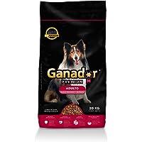 Ganador Premium 20kg, Alimento para Perros Adultos de Razas Medianas y Grandes.