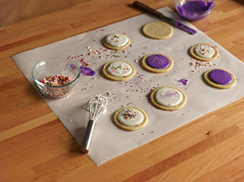 how to clean non stick baking sheets