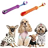 voguetu Dog Toothbrush, Dog Dental Care, Cleaning Tartar, Reducing The Accumulation of Plaque, Soft Bristles on Three Sides, Easy to Grasp with Large Handle(2packs)
