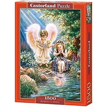 1500 TEILE PUZZLE SANDRA KUCK CASTORLAND 151165 COPY OF /'TENDER LOVE/'