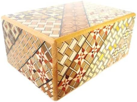 B001F0N3U8 Bene Gifts Japanese Yosegi Puzzle Box 4 Sun 10 Moves 51NZTkfxufL