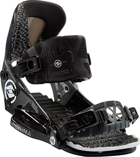Hyperlite 2017 The System Pro (Black) Wakeboard Bindings