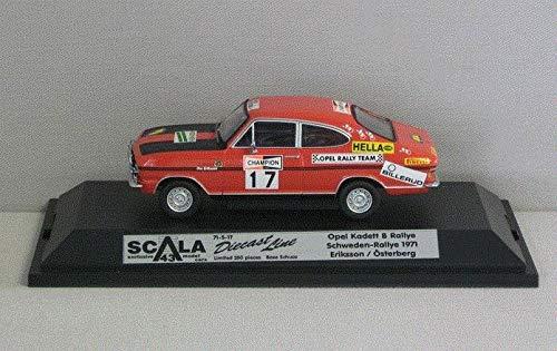 Opel Kadett B Schweden-Rally 1971  39 - 1 43 - Schuco