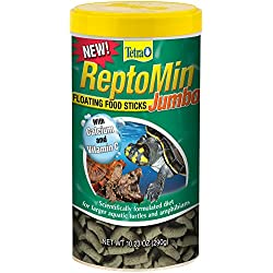 Tetra ReptoMin Jumbo Floating Food Sticks, 10.23 oz.