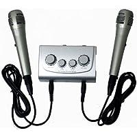 Mezclador de karaoke Azusa MIK0115 con micrófonos