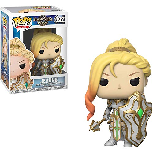 Funko Jeanne: Summoners War x POP! Games Figure & 1 PET Plastic Graphical Protector Bundle [#392 / 34878 - B]