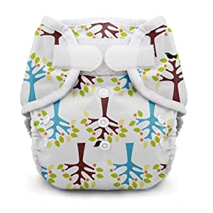 Thirsties Duo Wrap, Blackbird, Size Two (18-40 lbs) (Discontinued by Manufacturer)