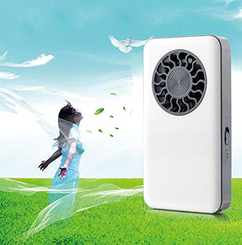 Qiyun Creative USB recargable Mini ultrafina Portátil Bolsillo Ventilador De Mano Mesa computadora Aire Acondicionado...