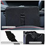 WilAuto Car Rubbish Bin, Car Bin for Tidy, Hanging Leakproof Rubbish Container, Car Organiser Car Boot for Car/SUV/Truck…