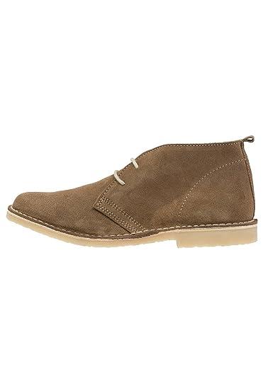 1bd14822ae0 Pier One Chaussures pour hommes en Beiger - Chaussures à lacet élégantes en  cuir brut