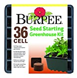 Burpee 36 Cell Seed Starting Kit, One Size