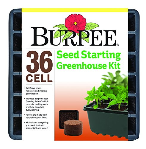 (Burpee 36 Cell Seed Starting Kit, One Size)