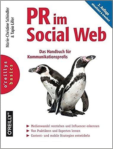 Cover des Buchs: PR im Social Web