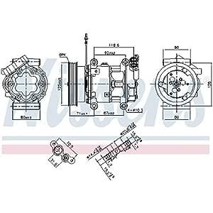 Nissens 89064 Sistemas de Aire Acondicionado