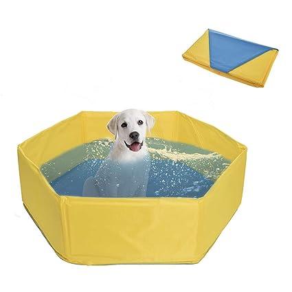 LiféUP Bañera para Perro Y Gato: Lavadora Plegable para Mascotas ...
