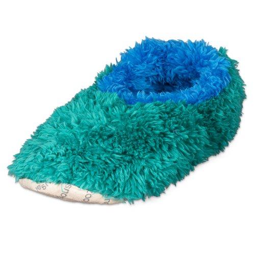 Kids and Tweens Dip Dyed OMG Fur Plush Fleece Lined Snoozies