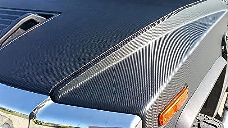 VViViD XPO Black Carbon Fiber Car Wrap Vinyl Roll Featuring Air Release Technology 1ft x 5ft
