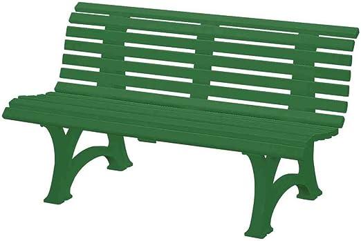 Blome-Tillmann Neptun/Helgoland - Banco de plástico, color verde: Amazon.es: Jardín