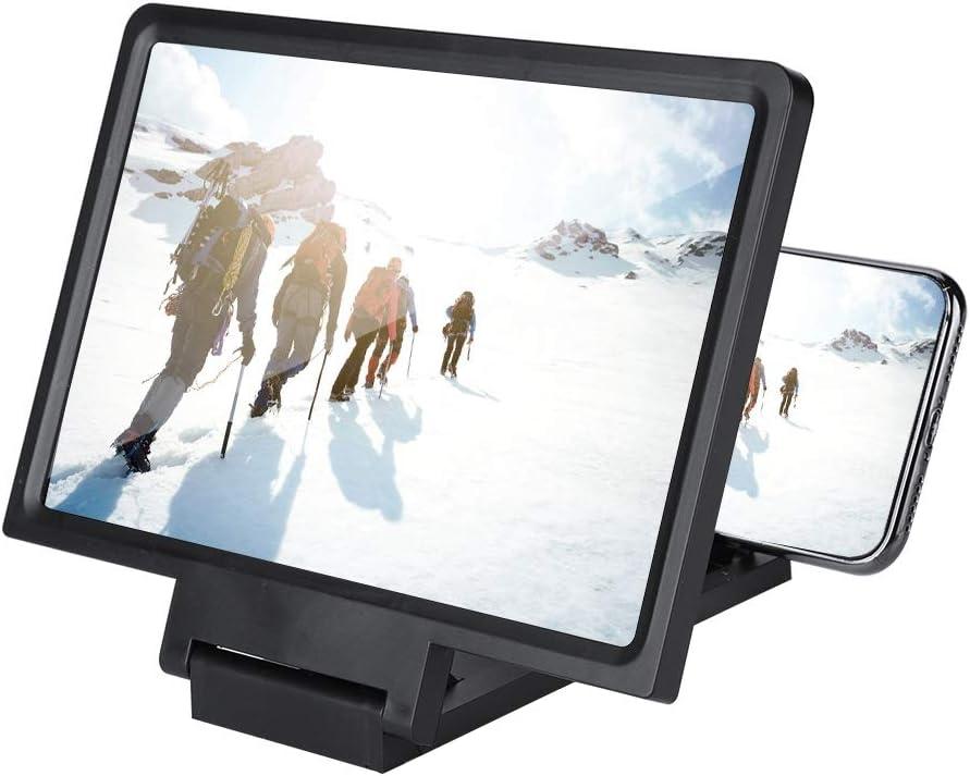 Amplificador De Pantalla De Tel/éfono Pantalla Grande BLU-Ray Ultra-Clear Phone Screen Enlarger HD 3D Movie Video Projector ARCH Lupa De Pantalla De Tel/éfono M/óvil De 20//26//32 Pulgadas
