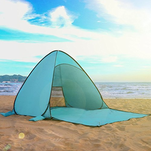 Camping Tent, Tecare 2-3 Person Tent Pop Up Water Resistant Camping Tent With Carry Bag for Backpacking, Ideal Shelter for Casual Family Camping, Hiking, Outdoor Use