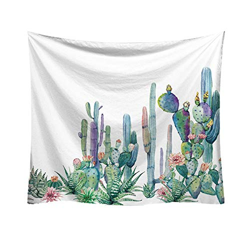 - Alimao Dexterous Fashion Tapestry Green 2019 New Cactus Style Pattern Decorative Tapestry Home Decoration Special sales