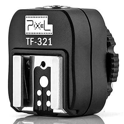 Flash Hot Shoe to Pc Adapter Flashguns Pixel TF 325 for Sony Alpha A900 A850 A750 A700 A550 A500 A380 A350 A330 A300 as FS-1100