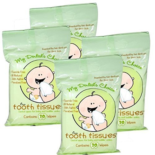 My Dentist Choice Tooth Tissues 30 Count, 4 Pack by Tooth Tissues