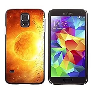 TopCaseStore / la caja del caucho duro de la cubierta de protección de la piel - Space Planet Galaxy Stars 48 - Samsung Galaxy S5 SM-G900