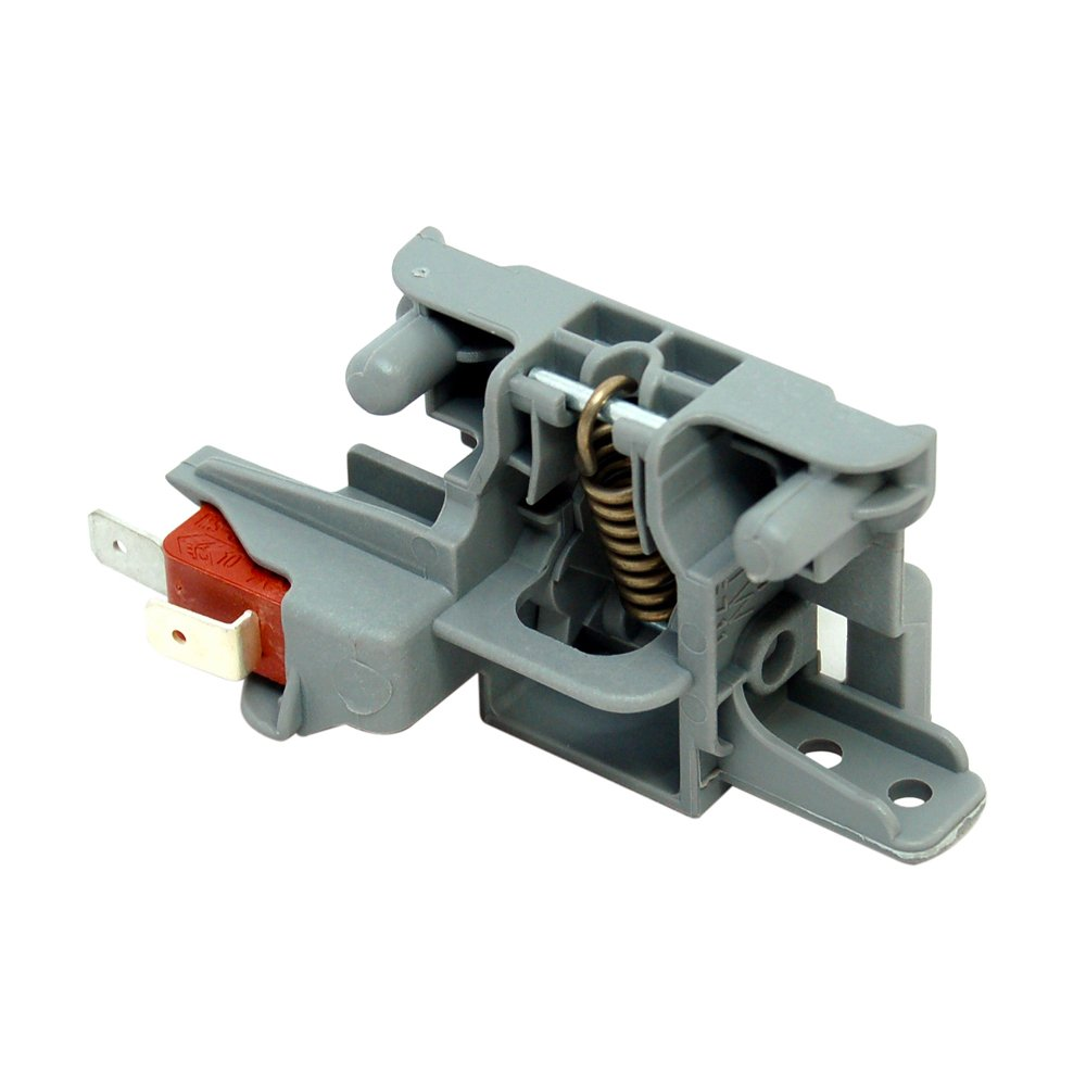 Genuine Indesit Di450Uk Di6 Di620Uk Dishwasher Door Lock Catch Switch [Energy Class A+++] Now Whirlpool Group C00195887