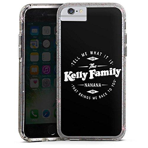 Apple iPhone 6s Plus Bumper Hülle Bumper Case Glitzer Hülle The Kelly Family Nanana Merchandise Fanartikel
